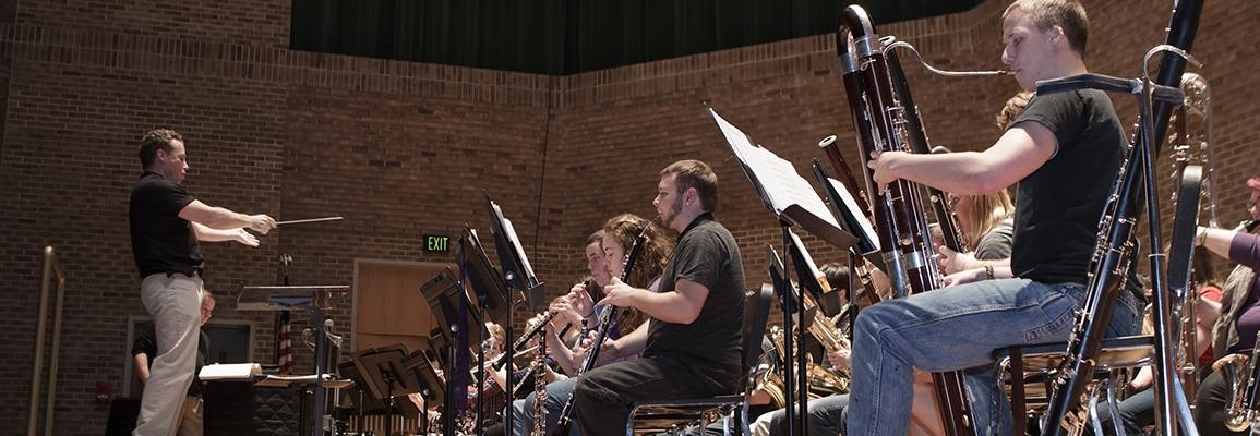 woodwinds rehearsal