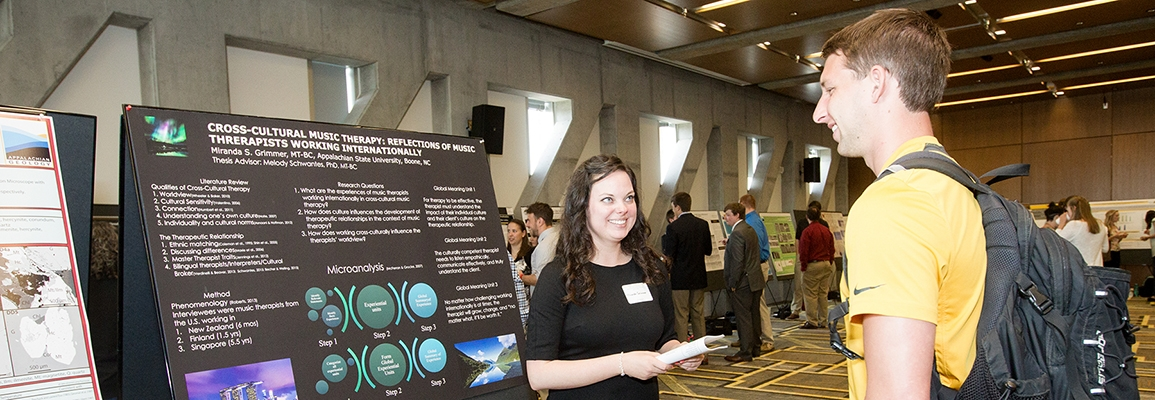 music therapy graduate research poster presentation