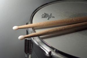 drum & drumsticks